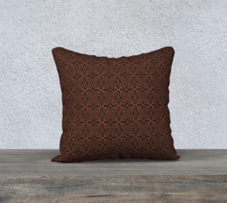 Fire Maze Tile 18 x 18 Pillow preview