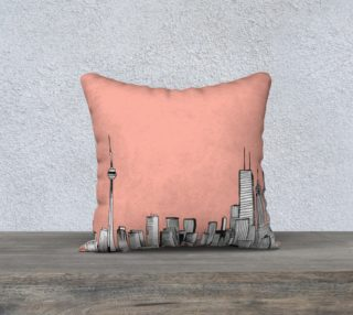 Pink Toronto Pillow preview