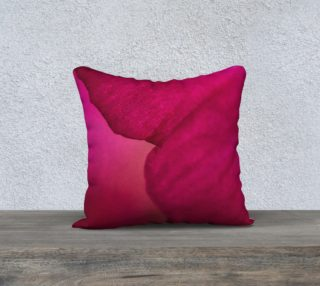 Magenta Pillow Cover 18 x 18 preview