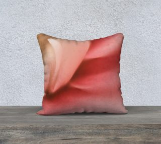 Pink Fronds 18 x 18 Pillow preview