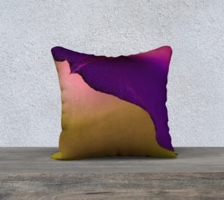 Purple Edge Pillow 18 x 18 preview