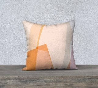 Peach & Blush Pastel Pillow by HOLLIDAY preview