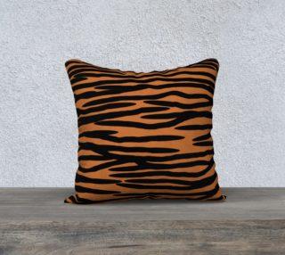 Tiger Skin Pattern Cushion preview
