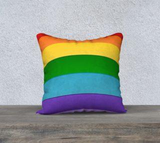 Rainbow Design Cushion preview