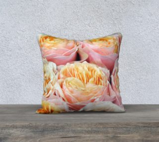 Aperçu de Peonies Throw Pillowcase 18 x 18