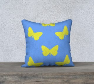 Butterfly Summer Pillow Case square 18 preview