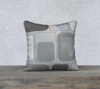 Corona Corona Grays Pillow by Deloresart preview