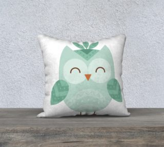 hibou turquoise preview