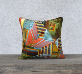 Caminito 18' Square Cushion preview