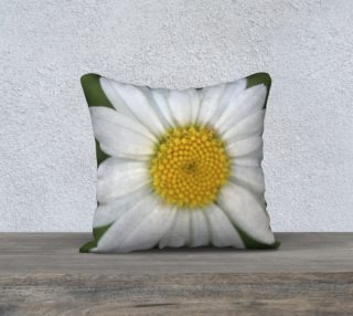 White Daisy Pillow preview