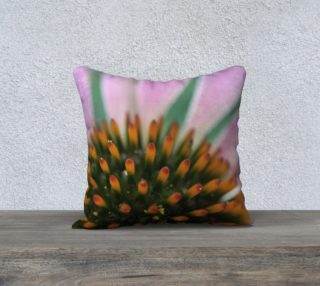 Pink Coneflower Pillow preview