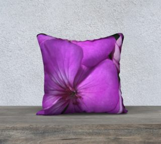 Purple Flower Pillow preview