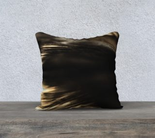 18 x 18 Black Feather Pillow preview