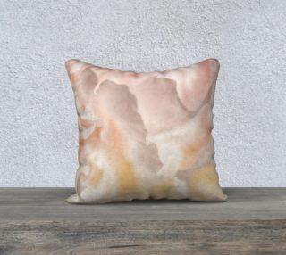 18 x 18 Peony Petal Pillow preview