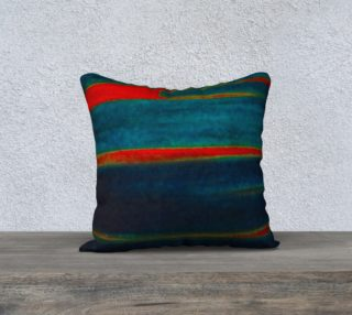Meteor Trails Square Pillow preview