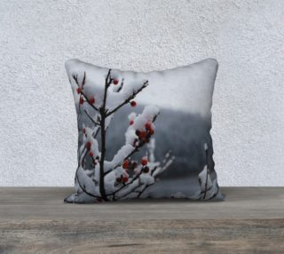 Snowberry pillow preview
