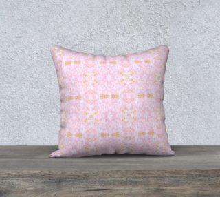 Mock Floral Pale Bouquet Ikat Pink preview
