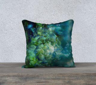 Aperçu de Symphony in Blue Pillow