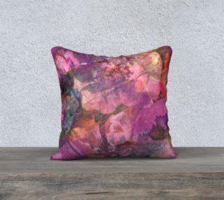 Aperçu de Unfolding Flowers Pillow Case 18sq