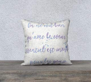 Aperçu de Little Prince Quote Pillow