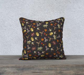 Aperçu de Orchids of Tambopata 1 Pillow Case 18x18