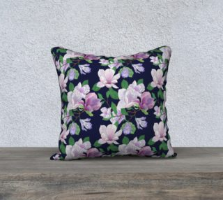 Magnolia Floral Frenzy Pillow case preview