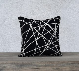 paucina throw pillow - 18x18 preview