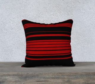 Three Red Stripes You're Out 18x18 Pillow Case preview