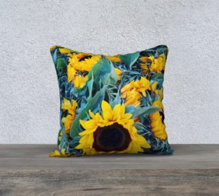 Aperçu de Sunflowers pillow