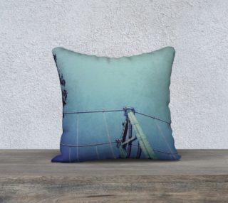 Aperçu de pillow Lions Gate blue