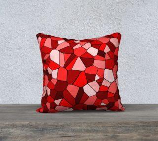 Red Monochrome Geometric Mosaic Pattern preview