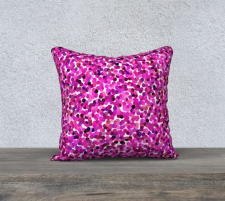 Pink Tone Haze Pillow Case Square preview
