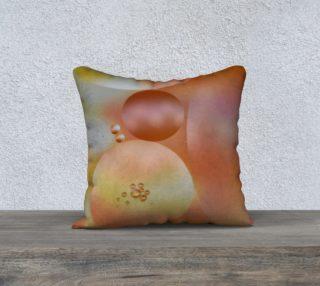 Gold Bubble pillow preview