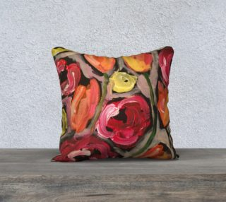 Aperçu de emma g floral pillow