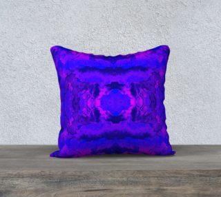 Aperçu de Purple mirror watercolor abstraction