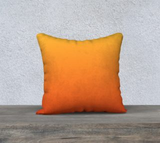 Fiery Sunset Pillow Case Square 18 preview