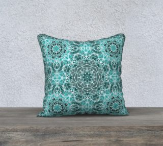 Turquoise & Gray Kaleidoscope 18 preview
