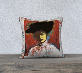Simone Says Artist's Signature-Edge Pillow Case preview