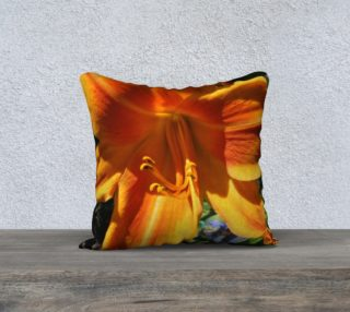 Screamsickle daylily pillow 4 preview