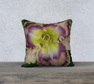 radio rider daylily pillow preview
