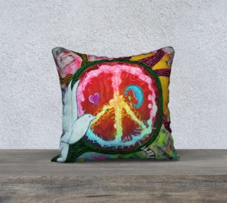 Peace Tree Pillow Case preview