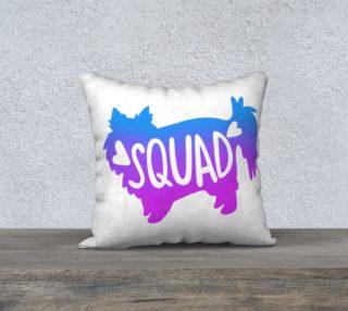 Aperçu de Squad -18 x 18 White Pillowcase