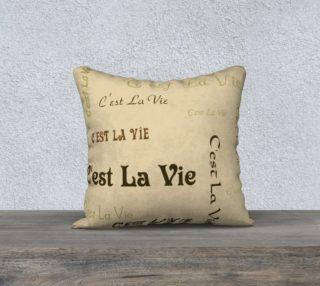 Coffee C'est la Vie Pillow Case Style1 preview
