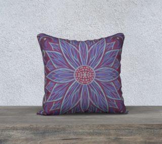 """""""Lavender lotus"""" floral arabesque pattern preview"""