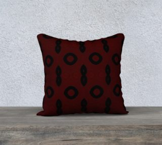 Red and Black Pillow Case preview