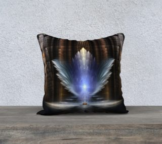 The Wings Of Heaven Pillow Brown preview