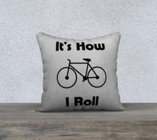 BikeRollBlackPillow18 preview