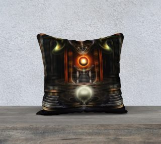 The Throne Room Pillow Black preview