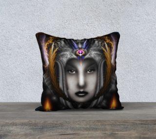 Thinosia Queen Of Armageddon Pillow preview