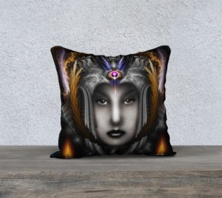 Thinosia Queen Of Armageddon Pillow Brown preview